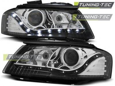 Фары передние Monolight Black для Audi A3 8P