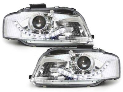 Фары передние Dlite Chrome для Audi A3 8P