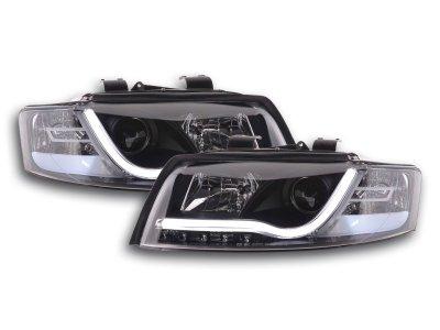 Фары передние FK Evo Black для Audi A4 B6