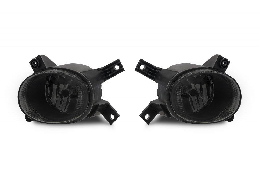 Альтернативные противотуманные фары Smoke на Audi A4 B7