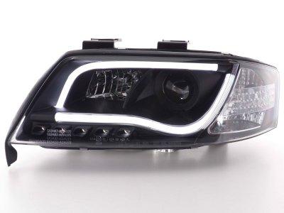 Фары передние FK Black для Audi A6 C5
