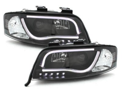 Фары передние Dlite Evo Black для Audi A6 C5