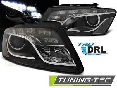 Фары передние Devil Eyes Black для Audi Q5