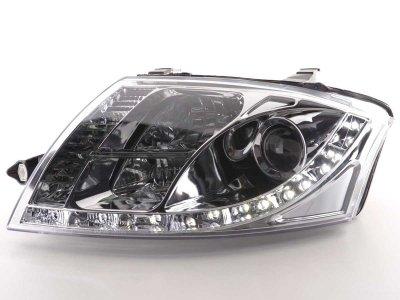 Фары передние Devil Eyes Chrome для Audi TT 8N