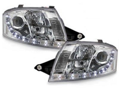 Фары передние Dlite Chrome для Audi TT 8N