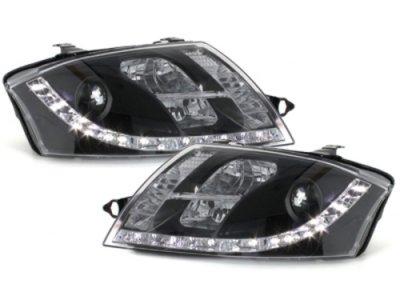 Фары передние Dlite Black для Audi TT 8N