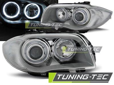 Фары передние Tuning-Tec Neon Eyes Chrome для BMW 1 E87 / E81