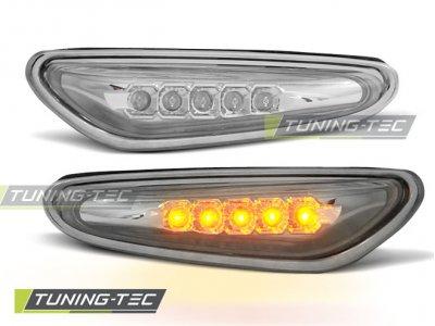 Повторители поворота LED Chrome для BMW 3 E46 рестайл