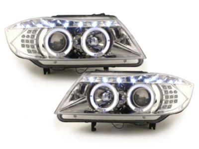 Фары передние Dayline LED Chrome для BMW 3 E90