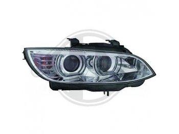 Фары передние 3D Angel Eyes Chrome от HD для BMW 3 E92 / E93 XENON