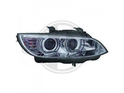 Фары передние 3D Angel Eyes Chrome от HD для BMW 3 E92 / E93 XENON AFS