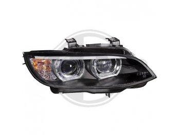 Фары передние 3D Angel Eyes Black от HD для BMW 3 E92 / E93 XENON AFS
