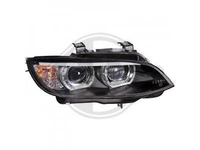 Фары передние 3D Angel Eyes Black от HD для BMW 3 E92 / E93 XENON