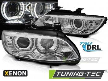 Фары передние от Tuning-Tec 3D Angel Eyes Chrome для BMW 3 E92 / E93 XENON AFS