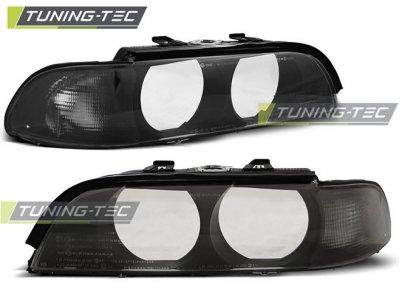 Стёкла на передние фары Smoke от Tuning-Tec для BMW 5 E39