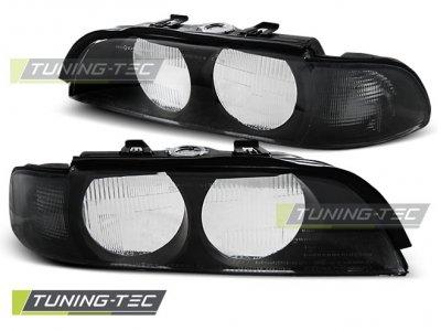 Стёкла на передние фары Black Smoke от Tuning-Tec для BMW 5 E39