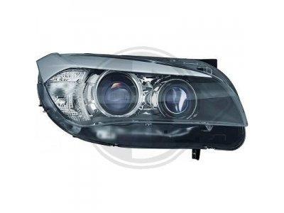 Фары передние CCFL Angel Eyes Black от HD для BMW X1 E84