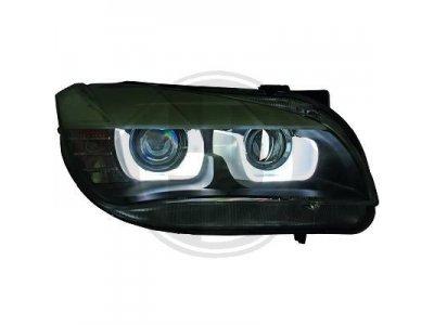 Фары передние U-Type Angel Eyes Black от HD Var2 для BMW X1 E84 XENON