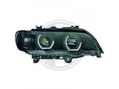 Фары передние Angel Eyes Urban Black для BMW X5 E53