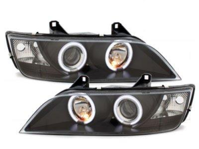 Фары передние CCFL Angel Eyes Black для BMW Z3 E36