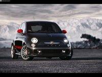 На Fiat 500 купить передние альтернативные фары