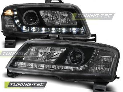 Передняя альтернативная оптика Daylight Black от Tuning-Tec для Fiat Stilo 3D
