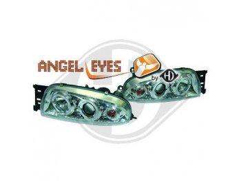 Фары передние Angel Eyes для Ford Fiesta IV