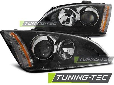 Фары тюнинговые передние Black для Ford Focus II