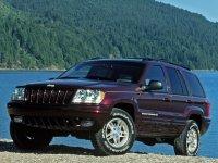 На Jeep Grand Cherokee WJ купить передние альтернативные фары