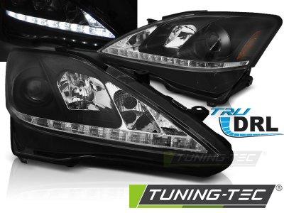 Фары передние Daylight Black LED для Lexus IS 250 / IS 350