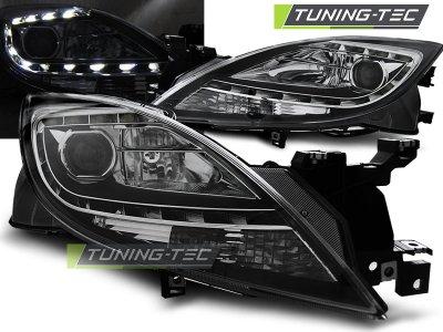 Фары передние Daylight Black для Mazda 6 GH