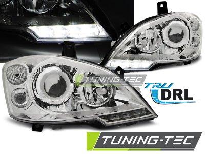 Фары передние Daylight Chrome от Tuning-Tec на Mercedes Vito W639