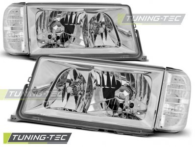 Фары передние Chrome от Tuning-Tec на Mercedes C класс W201