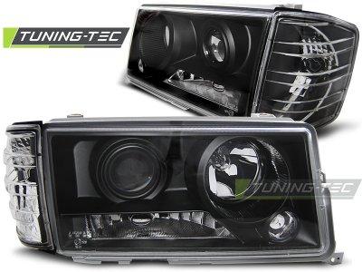 Фары передние Black от Tuning-Tec на Mercedes C класс W201