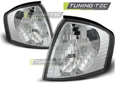 Указатели поворота Chrome от Tuning-Tec на Mercedes C класс W202