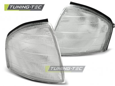 Указатели поворота White от Tuning-Tec на Mercedes C класс W202