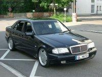 На Mercedes C класс W202 купить передние альтернативные фары