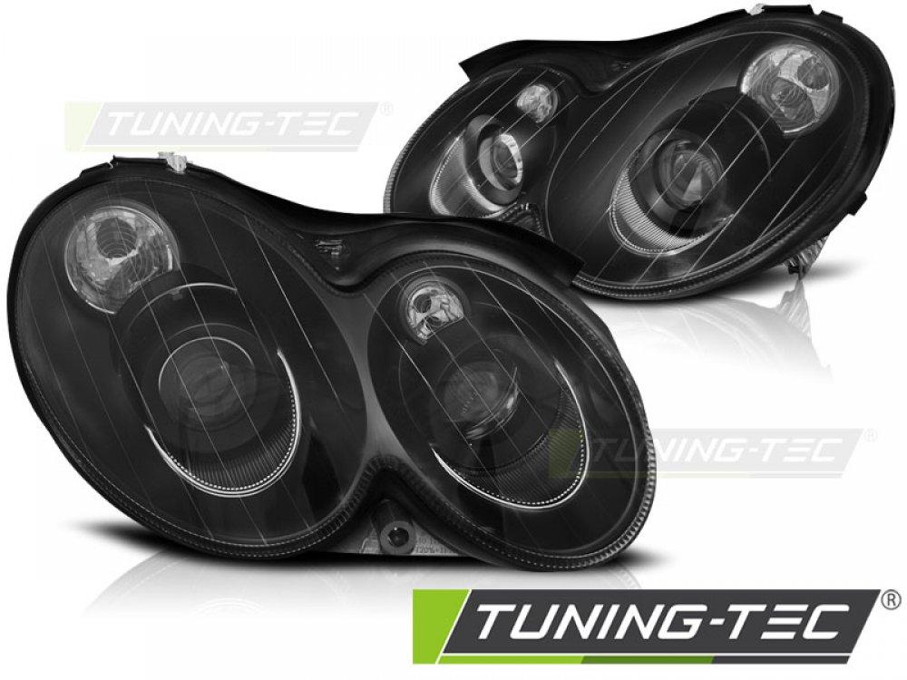 Фары передние Black от Tuning-Tec на Mercedes CLK класс W209
