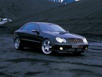 На Mercedes CLK класс W209 купить передние альтернативные фары