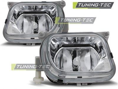 Противотуманные фары Chrome от Tuning-Tec на Mercedes E класс W210