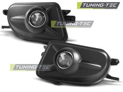Противотуманные фары с линзой Black от Tuning-Tec на Mercedes E класс W210 рестайл