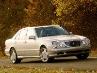 На Mercedes E класс W210 купить передние альтернативные фары