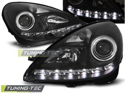 Фары передние Daylight Black от Tuning-Tec на Mercedes SLK класс R171
