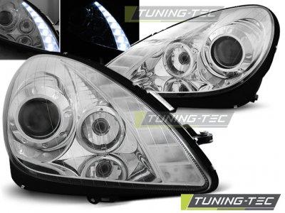 Фары передние Daylight Chrome Var2 от Tuning-Tec на Mercedes SLK класс R171