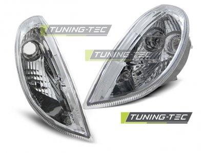 Указатели поворота Chrome от Tuning-Tec на Mercedes SLK класс R170