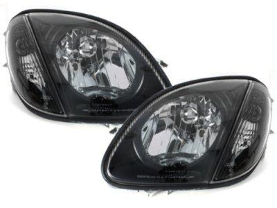 Фары передние тюнинговые Black на Mercedes SLK класс R170