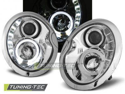 Фары передние Daylight Chrome от Tuning-Tec на MINI Cooper
