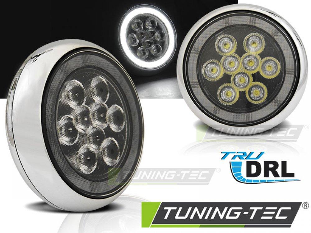 Альтернативные ПТФ Rally Look с ходовыми огнями LED от Tuning-Tec для MINI Cooper