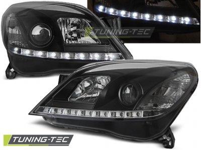 Передние фары Daylight Black от Tuning-Tec на Opel Astra H