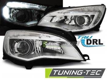 Передние фары Daylight Chrome от Tuning-Tec на Opel Astra J